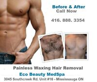Men's Painless Wax - Massage- Body Scrub - Laser Hair R. 70% Off