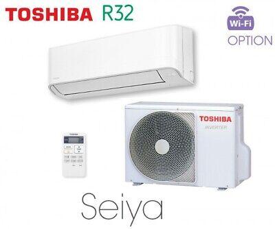 Toshiba SEIYA 2,5 kW Split Klimaanlage R32 A++/A+ leise nur 21 dB(A) Serie