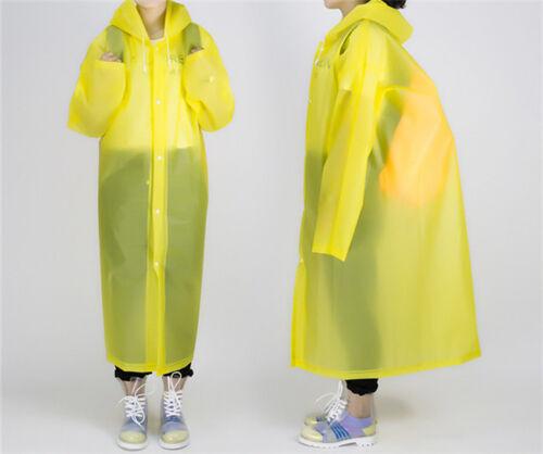 Adult Thick Disposable Rain Coat Raincoat Poncho Camping Hik