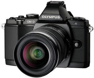 Olympus E-M5 digital camera - 16.9 megapixels