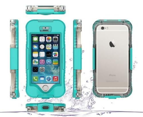 WATERPROOF SHOCKPROOF DIRT PROOF CASE COVER FOR APPLE IPHONE 8/8Plus /7/6/5