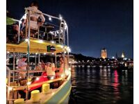 Head chef wanted for a unique venue on a moored boat nr Vauxhall