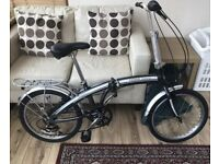 "Ammaco Folding Bike / bicycle 20"" Wheels Commuter Caravan 6 Speed Lightweight"