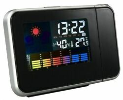 Top-grade 1 pc Projection Digital Weather LCD Snooze Alarm Clock Newest
