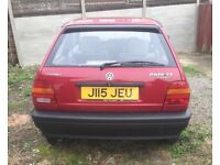 VW Polo cl coupe *very low mileage *