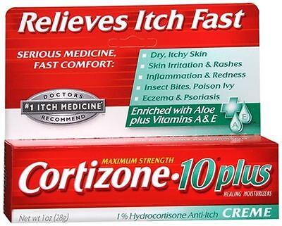 Cortizone-10 Plus Maximum Strength Anti-Itch Creme 1 oz