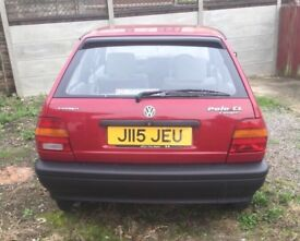 VW Polo coupe- Low mileage