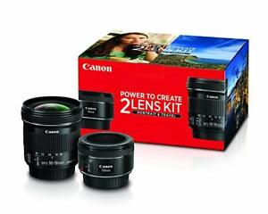 CANON Power to Create 2 LENS KIT – Portrait & Travel Edition