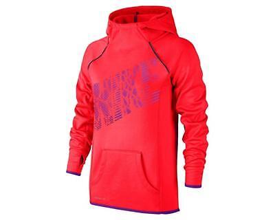 NIKE Girls Epic Flash Fleece Pullover Hoodie - (L)