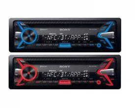 Sony Bluetooth car stereo system