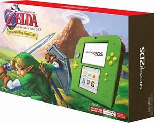 Nintendo 2ds zelda green edition ocarina of time neuf