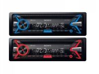 Sony Bluetooth car stereo system