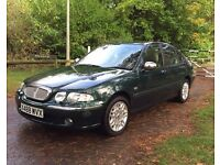 Rover 45 1.8 Connoisseur 4dr Saloon Excellent Condition
