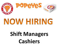 Shift Manager & Cashier