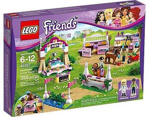 **BRAND NEW LEGO FRIENDS HEARTLAKE HORSE SHOW #41057**