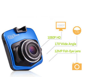 "2.4"" 1080P Full HD Car DVR Vehicle Camera Video Recorder Dash G-sensor T208"