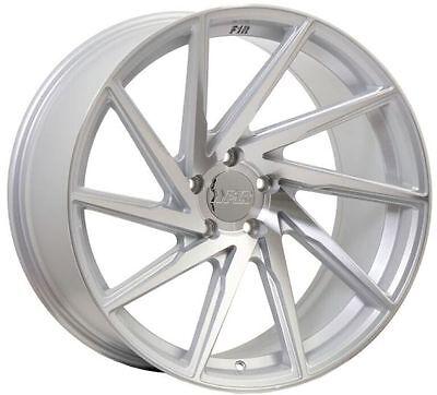 18X8.5 +38 F1R F29 5X114.3 SILVER WHEELS Fits Crz Prelude Accord Civic Si 5X4.5