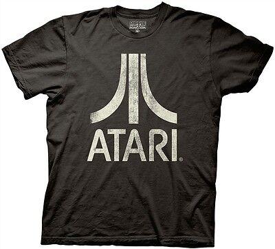 Atari Classic Logo Game Licensed Adult T Shirt