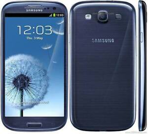SAMSUNG GALAXY S3 SGH-i747 UNLOCKED / DEBLOQUE ANDROID WIFI TELEPHONE FIDO ROGERS TELUS BELL KOODO VIDEOTRON CHATR +++