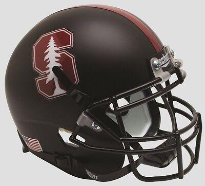 Stanford Cardinal Black 2015 Tree Schutt Full Size Football Helmet