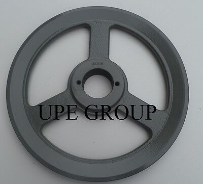 Cast Iron Pulley Sheave 9.75 For Electric Motor 1 Groove For 3l 4l & A Belts