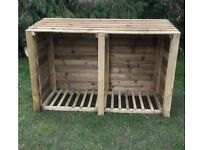 New 6ft log store