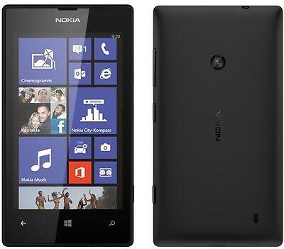 BRAND NEW NOKIA LUMIA 520 BLACK AT&T UNLOCKED GSM 8GB WINDOWS 8 WIFI SMARTPHONE