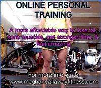 Online personal training. Motivating, effective and affordable