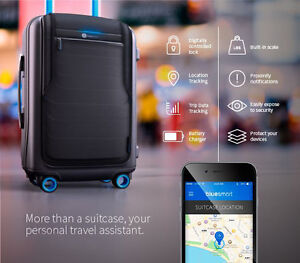 Bluesmart Smart-Luggage (used only once, like-new)