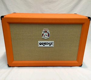 Orange 2x12 120 watt cab
