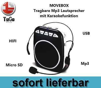 MP3 Player, Karaoke, Lautsprecher, Verstärker, Mevlüt, Vaaz, funbox mit Micro