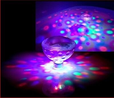 Pool Swimming Underwater LED Floating Light Disco Glow Show Tub Spa Lamp US