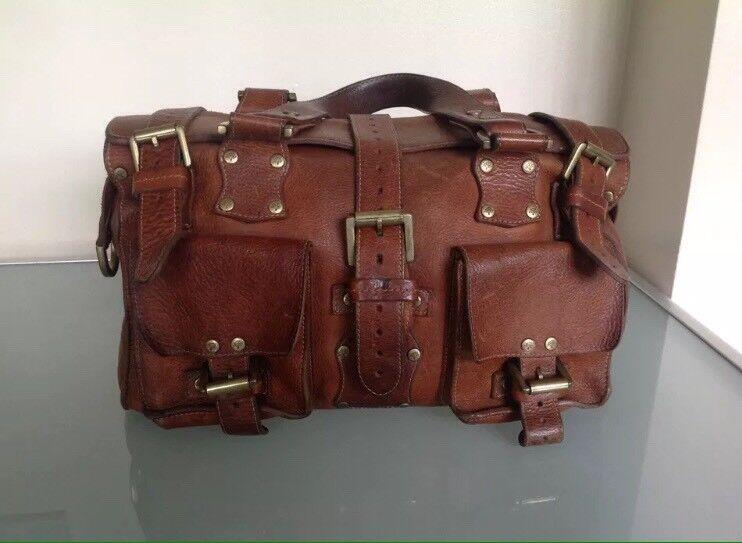 7a585d935c Vintage Mulberry Roxanne Darwin Leather Handbag - Oak