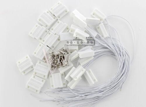 10 pcs MC-38 Wired Door Window Sensor Magnetic Switch