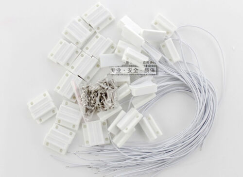 10 pcs MC-38 Wired Door Window Sensor Magnetic Switch