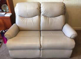 1 x 2 seater sofa, 1 x electric recliner & 1 x non-recliner chair