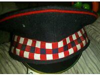 Scots Guards forage cap