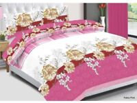KING/DOUBLE/SINGLE COMPLETE BEDDING SET AVAILABLE IN MANY DIFFERENT PATTERNS