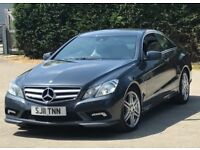 2011 Mercedes-Benz E Class 2,1 E250 TD CDI BlueEFFICIENCY Sport Coupe 2dr automatic 2 owners