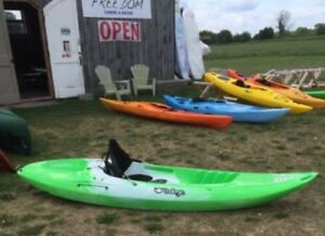 Tootega Sit On Top 9.5ft Kayaks instock-includes High-Back Seat!