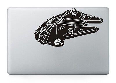 "Star Wars Millennium Falcon Decal Sticker for Macbook Air/Pro/Retina 13""15""17"""