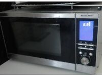 Combi 800 watt microwave oven / grill free delivery