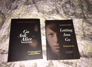 Anonymous books, 10 for both