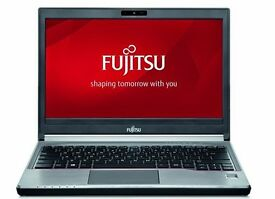 LAPTOP FUJITSU INTEL CORE 2, 2GHZ, 2GB RAM, 250GB HDD, WIN 7, COMPLETE WITH CHARGER