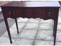 writing desk (victorian pedestal)