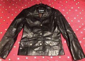 Gavin Brown ladies leather jacket - size 8