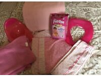 Girls junior bedding