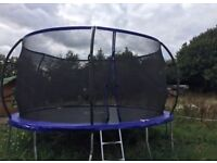 14ft Trampoline . Only 3 month old