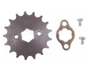 Pitbike/dirtbike/atv Front  Sprocket (for higher top speed)