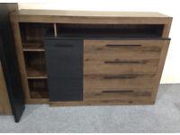 Brand New RRP £249 Bellevue Sideboard Chest of Drawers Bedroom Livingroom Storage Unit